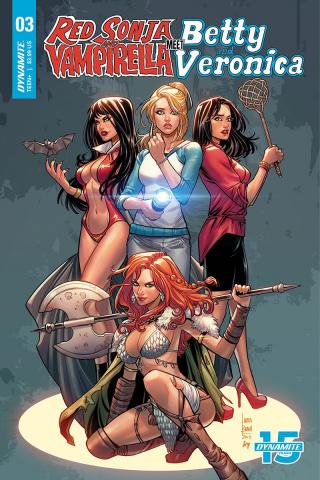 Red Sonja and Vampirella Meet Betty and Veronica #3 (Braga Cover)