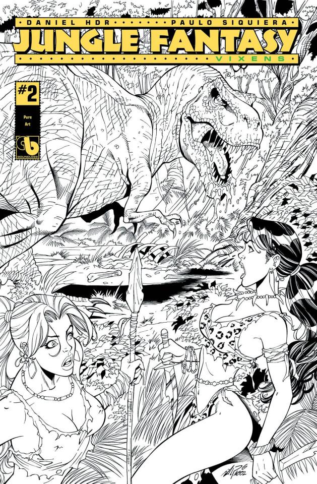 Jungle Fantasy: Vixens #2 (Pure Art Cover)