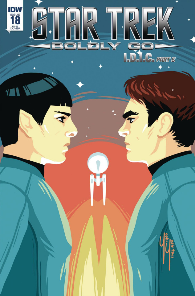 Star Trek: Boldly Go #18 (10 Copy Cover)