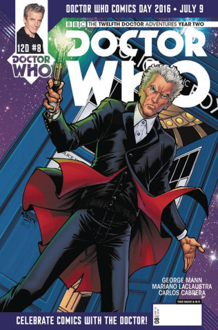 Doctor Who: New Adventures with the Twelfth Doctor, Year Two #9 (Doctor Who Day Cover)