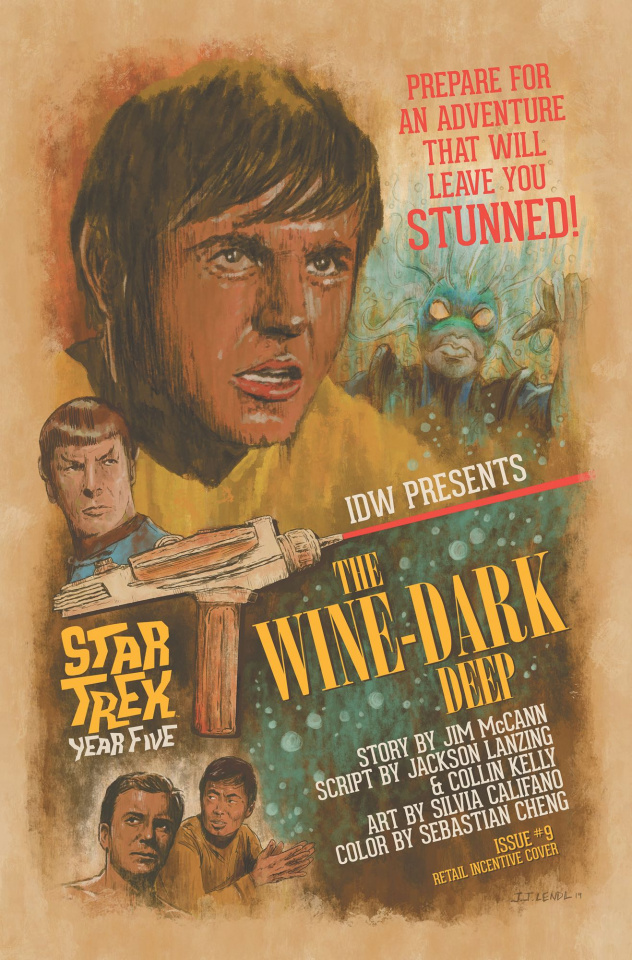 Star Trek: Year Five #9 (10 Copy Lendl Cover)