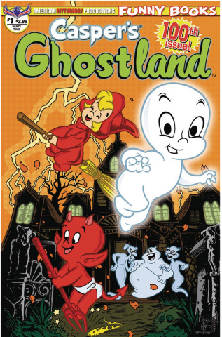 Casper's Ghostland #100 (100th Issue Anniversary Party Time Cover)