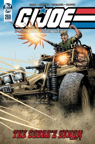 G.I. Joe: A Real American Hero #260 (Joseph Cover)