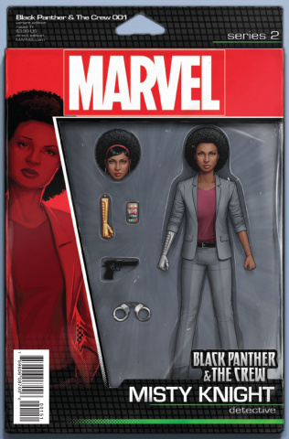 Black Panther & The Crew #1 (Christopher Action Figure Cover)
