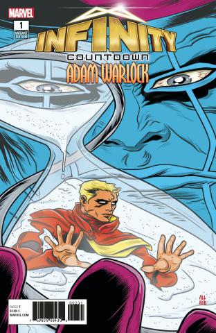 Infinity Countdown: Adam Warlock #1 (Allred Cover)