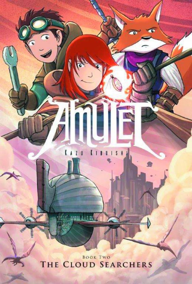 Amulet Vol. 3: The Cloud Searchers