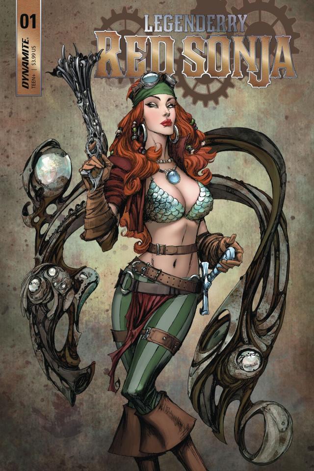 Legenderry: Red Sonja #1 (Benitez Cover)
