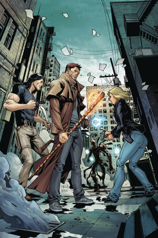 The Dresden Files: Wild Card #1 (Rare Virgin Cover)