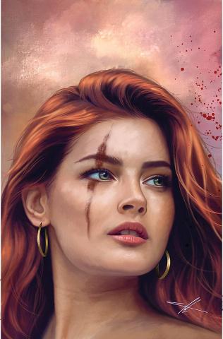The Invincible Red Sonja #6 (30 Copy Cohen Virgin Cover)