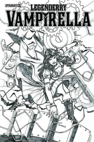 Legenderry: Vampirella #2 (10 Copy Davila Cover)