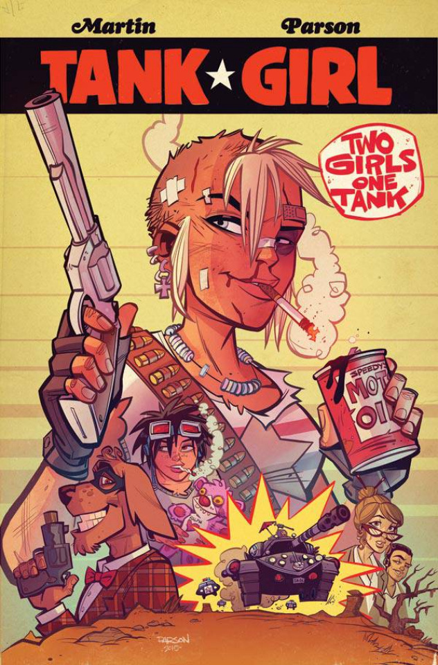 Tank Girl: Two Girls, One Tank #1 (Parsons Cover)