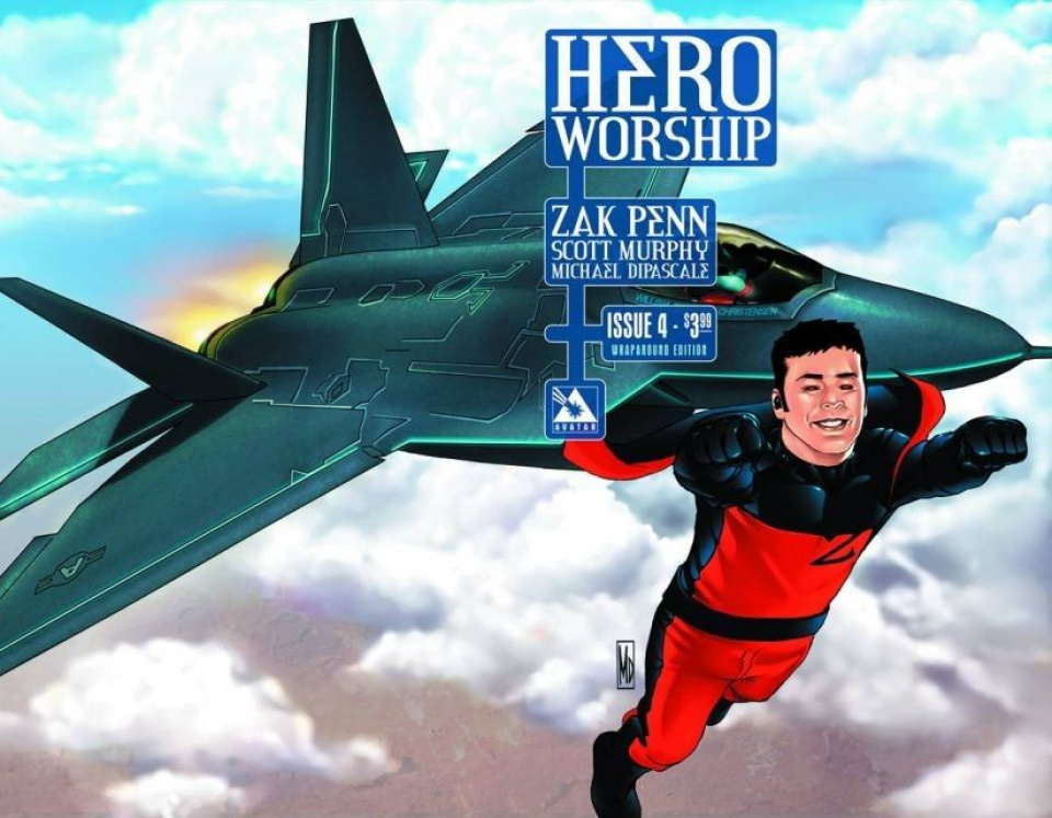 Hero Worship #4 (Wrap Cover)