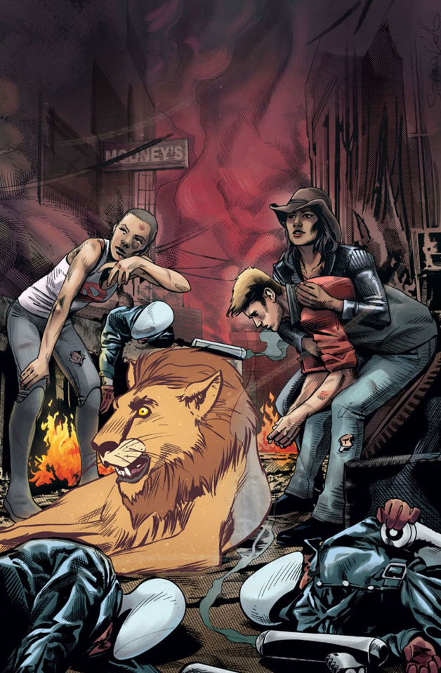 Generation Zero #9 (20 Copy Mooney Cover)
