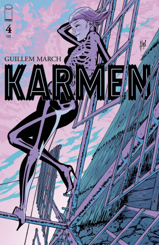 Karmen #4 (March  Cover)