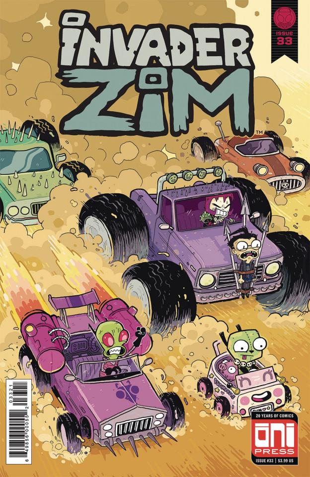Invader Zim #33 (Howard Cover)