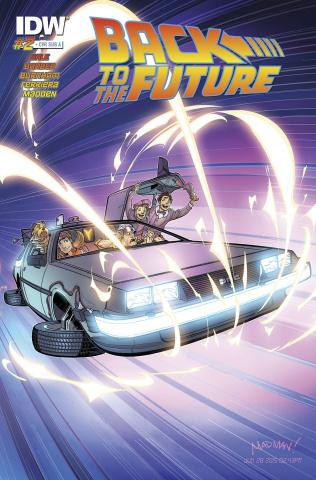 Back to the Future #2  (Delorean Cover)
