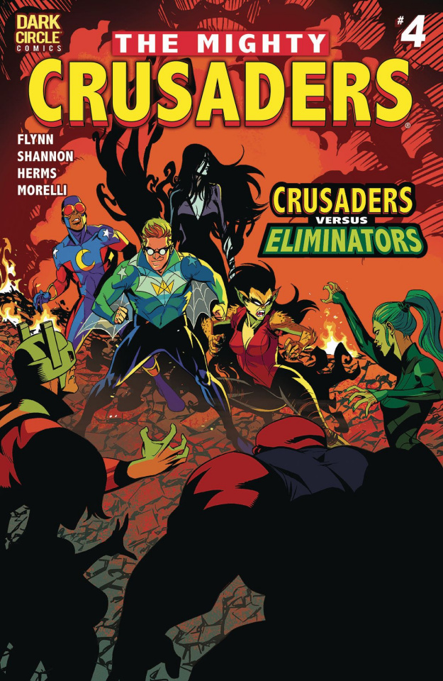 The Mighty Crusaders #4 (Shannon Cover)