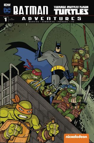 Batman / TMNT Adventures #1 (25 Copy Cover)