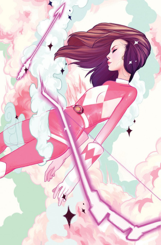 Mighty Morphin' Power Rangers: Pink #2 (50 Copy Beckett Cover)