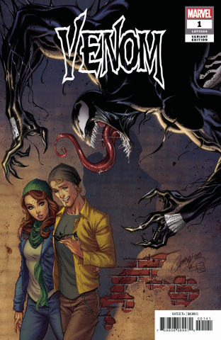 Venom #1 (J. Scott Campbell Cover)