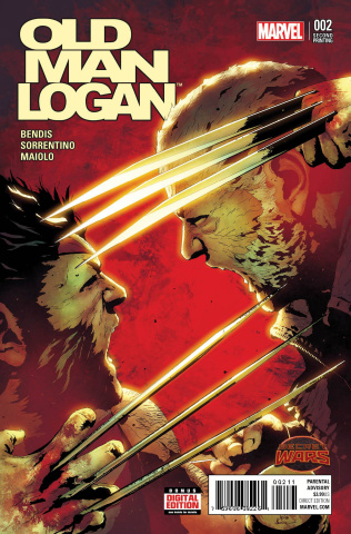 Old Man Logan #2 (Sorrentino 2nd Printing)