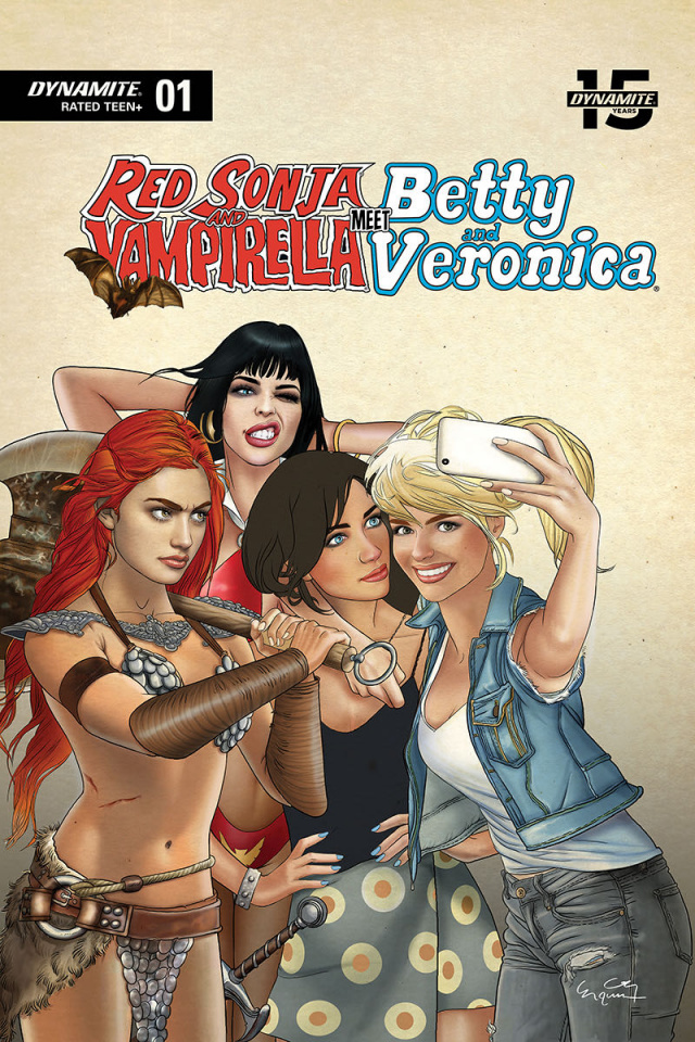 Red Sonja and Vampirella Meet Betty and Veronica #1 (Selfie Cover)