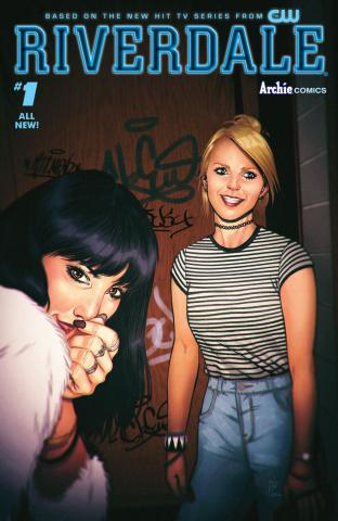 Riverdale #1 (Djibril Morissette-Phan Cover)