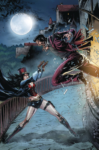 Van Helsing vs. The League of Monsters #5 (White Cover)