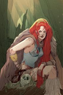 Red Sonja #4 (Rare Sauvage Virgin Art Cover)
