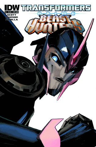Transformers Prime: Beast Hunters #2 (Subscription Cover)