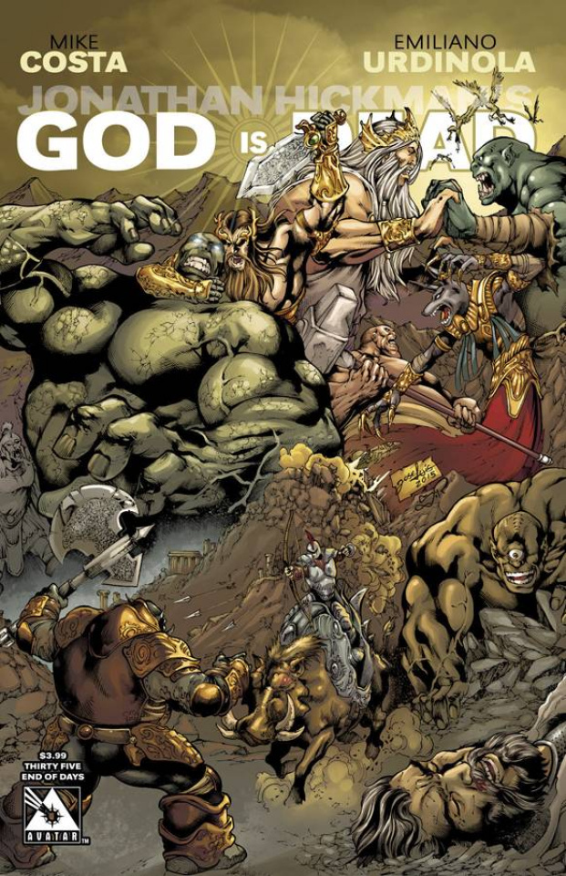God Is Dead #35 (End of Days Cover)