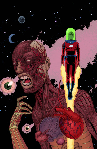 Black Hammer #5 (Ormston Cover)