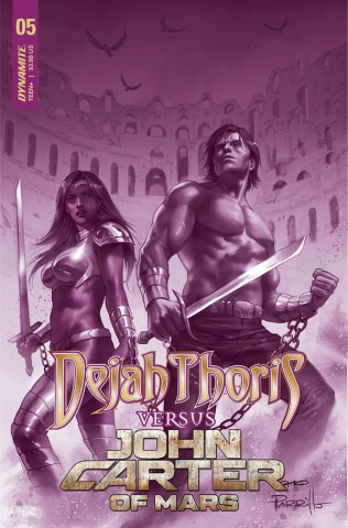 Dejah Thoris vs. John Carter of Mars #5 (15 Copy Cover)