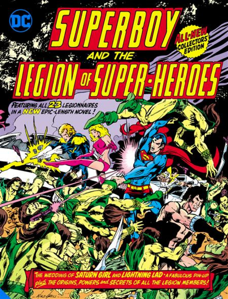 Superboy and The Legion Of Super-Heroes (Tabloid Edition)