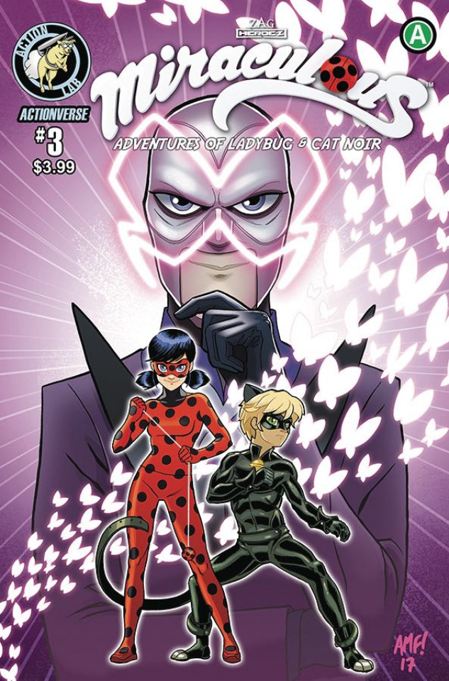 Miraculous: The Adventures of Ladybug & Cat Noir #3 (Cover B)