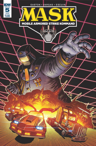 M.A.S.K.: Mobile Armored Strike Kommand #5 (Subscription Cover)