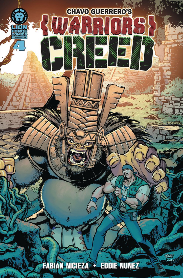 Warriors Creed #4 (Spanish Cover)