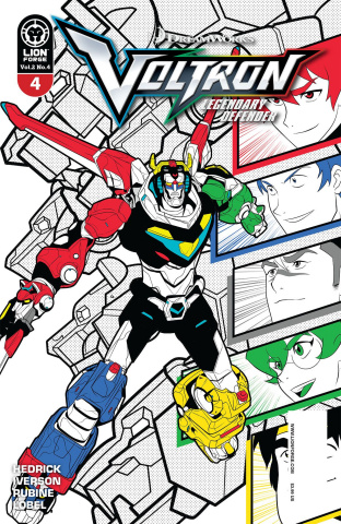 Voltron: Legendary Defender #4