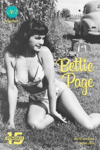 Bettie Page: Unbound #2 (Photo Cover)