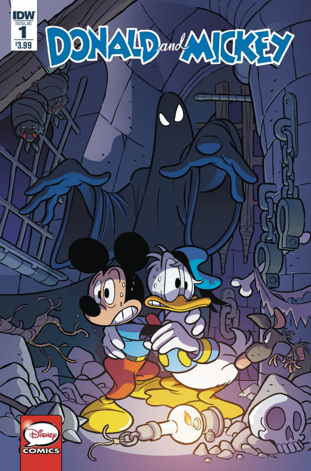 Donald and Mickey #1 (Freccero Cover)