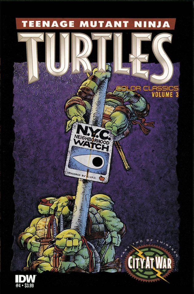 Teenage Mutant Ninja Turtles: Color Classics #4