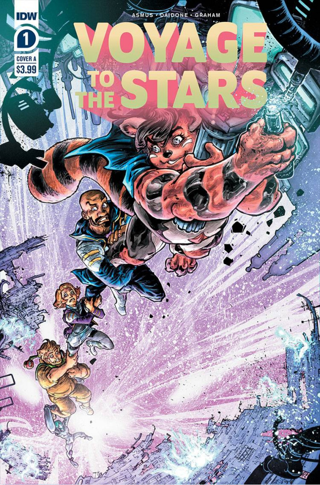 Voyage to the Stars #1 (Williams II Cover)