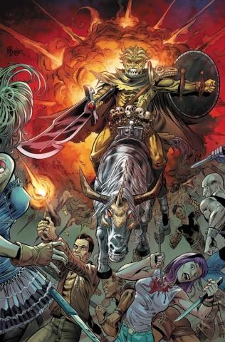 Grimm Fairy Tales: Apocalypse #4 (Bonet Cover)