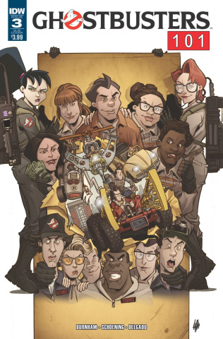 Ghostbusters 101 #3 (Subscription Cover)