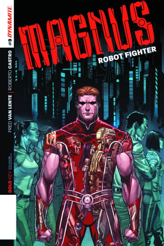 Magnus, Robot Fighter #9 (Subscription Cover)