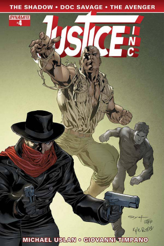 Justice, Inc. #4 (Syaf Cover)