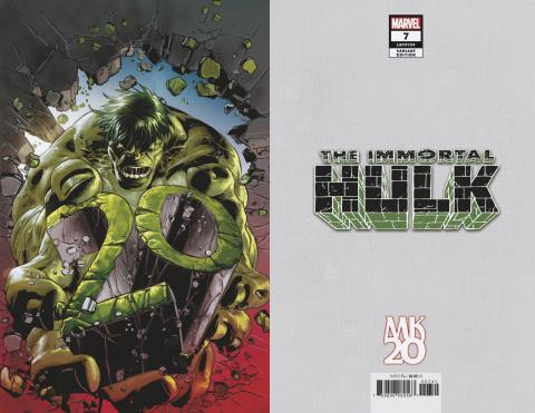 The Immortal Hulk #7 (Deodato Virgin Cover)