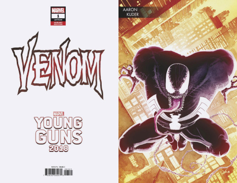 Venom #1 (Kuder Young Guns Cover)