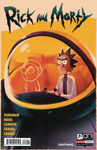 Rick and Morty #29 (Moss Cover)