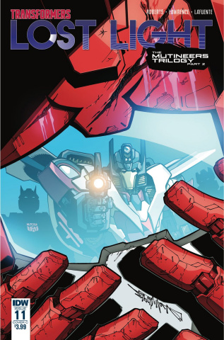 The Transformers: Lost Light #11 (Milne Cover)